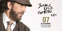 """Juan Luis Guerra """"Todo Tiene Su Hora"""" Tour en Bogotá. Después de finalizar la primera etapa de conciertos en Europa donde más de 150.000 personas disfrut..."""