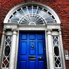 #GeogianDoors #Dublin #BlueDoor #WindowDesign #Architecture #IrishDoors #welcome #Blue #Ireland #Irishtourism
