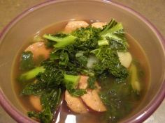 One Pot Kale and Turkey Soup (great for all phases) Ingredients: low sodium chicken Broth – 1 cup Lean Ground Turkey, 16 oz Crimini Mushrooms – about 2 cups Gar Side Recipes, Light Recipes, Diet Center, Turkey Soup, Turkey Sausage, Protein Foods, Protein Recipes, Low Sodium Chicken Broth, Low Carbohydrate Diet