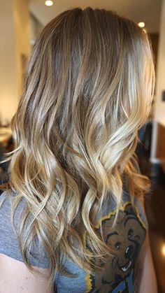 Fall hair color for blondes ombré balayage Perfect Hair, Great Hair, Ombré Hair, Hair Dos, Cool Blonde, Blonde Hair, Dark Blonde, Gorgeous Blonde, Blonde Color
