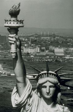 The Statue of Liberty is likely one of the most photographed monuments in the world. Dedicated in she stands in New York Harbor as a symbol of American Freedom and Opportunity. Monuments, Liberty New York, Vintage New York, Vintage Art, Sea To Shining Sea, American Freedom, Centenario, Famous Landmarks, Our Lady