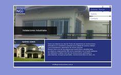 Sitio web para NGV Construcciones