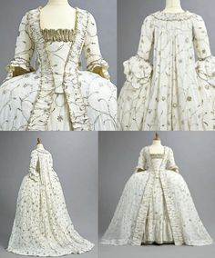 court gown 1770s