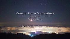 Venus - Lunar Occultation. 2012.8.14. Taebaek, Korea.  Kwon, O Chul.