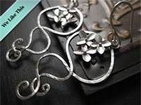 hammered wire jewelry - Bing Images