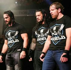 Seth Rollins, Roman Reigns, Dean Ambrose... THE SHIELD Dick27Ambrose