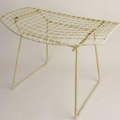 "Bertoia Ottoman, model ""424"" design 1952, Harry Bertoia."
