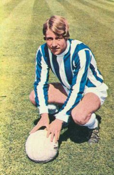 Bobby Hoy of Huddersfield Town in Huddersfield Town Fc, Blackburn Rovers, Terriers, Bobby, 1970s, Soccer, Football, Sport, People