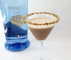 Pinnacle cake vodka Turtle Caketini (and no, I don't want to do a calorie count!)
