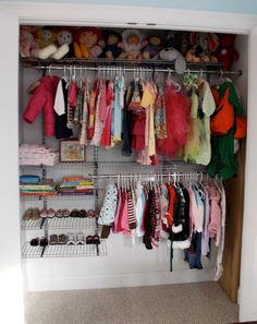 Great kids closet organization