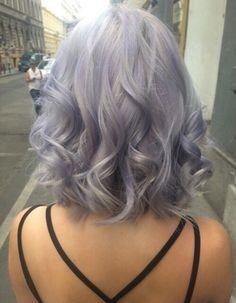 pinterest @esib123 short lob in pastel hair color