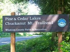 pine and cedar lakes hike    off chuckanut - 7 strenuous miles round trip  (discover pass required)
