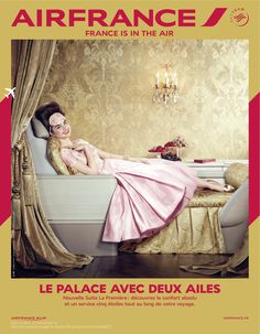 a #palace with two big #wings #franceisintheair #betc #campaign