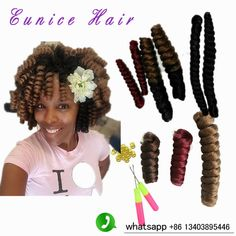 0inch 20inch synthetic kanekalon curls crochet braids multi colored hair