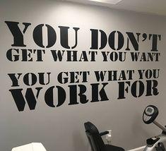 Physical Therapy Decor Gym Design Ideas Home Gym Ideas. You Physiotherapie Dekor Gym Design-Ideen Home Gym Ideen. Workout Room Home, Gym Room At Home, Home Gym Decor, Workout Rooms, At Home Workouts, Home Gyms, Workout Room Decor, Home Gym Garage, Basement Gym