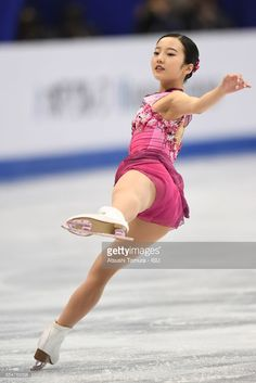 Marin Honda of Japan competes in the Junior Ladies Free Skating during the 4th day of the World Junior Figure Skating Championships at Taipei Multipurpose Arena on March 18, 2017 in Taipei, Taiwan.