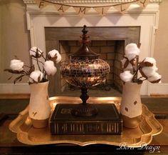 Decorative Faux Raw Cotton Branches | FaveCrafts.com