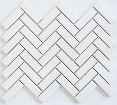 Herringbone Mosaic Tile Stylish Academy Tiles Ceramic Mosaics 83478 For 20 Architecture Gallery White Herringbone Tile, White Mosaic Tiles, Herringbone Backsplash, Herringbone Pattern, Toilet Tiles, Ceramic Garden Stools, Home Garden Design, Tiles Texture, Kitchen Flooring
