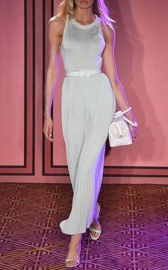 d95291eef49c Click product to zoom Brandon Maxwell, Bubblegum Pink, Knit Dress, Pleated  Skirt,