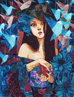 The Art of Katrina Pallon - Paintings 2010-2011