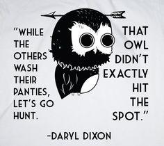 Tell it like it is Daryl.
