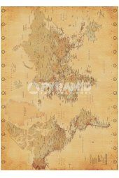 World Map (Vintage Style) Giant Poster Giant Posters, Vintage Style, Vintage Fashion, Vintage World Maps, Fashion Vintage, Vintage Inspired