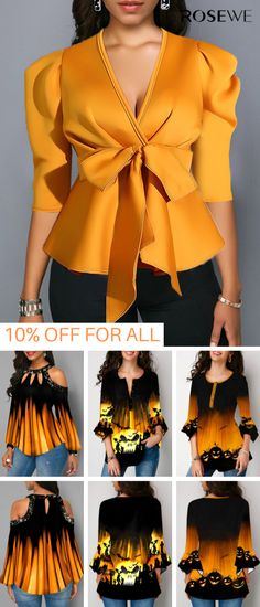 Hottest Halloween Costume Ideas Perfect For… Latest African Fashion Dresses, African Print Fashion, Chic Outfits, Pretty Outfits, Fashion Outfits, Girls Clothing Stores, Trendy Tops For Women, Look Fashion, Fashion Killa