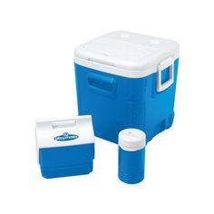 On Sale! The Igloor Legend 6 Cooler! Combo includes: One Ice Cube 48 Quart; One Playmate Miniª 6 can cooler; One 1 Qt Legendª Beverage Cooler!