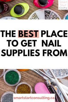 Save money buy purchasing nail supplies from this secret source!