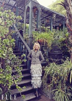 Diane Kruger by Max Abadian for ELLE Canada September 2015 - CHANEL Fall 2015