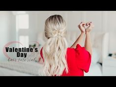 Valentine's Day Hair Tutorial | Twist Me Pretty - YouTube