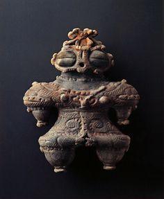 Japanese Wonder Ceramic Figurine Quot Dogu Quot B C 3000 2000