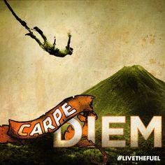 Carpe Diem Series by BlakeVasek on DeviantArt Carpe Diem, Bungee Jumping, Mixed Media Art, Collage, Deviantart, Chris Rice, Painting, Motivation Quotes, Gift