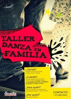 Taller danza en familia en Centro Saraiba, Ourense