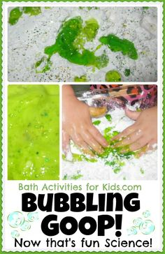 GOOP that bubbles as you play- what could be more fun?