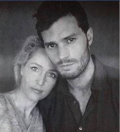 Gillian and Jamie. The Fall