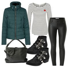 Herbst-Outfits: RockThatLook bei FrauenOutfits.de ___ #herbst #outfit #herbstoutfit #frauenoutfit #damenoutfit #damenmode #mode #outfitinspiration #casual #stiefeletten #jacke #übergangsjacke