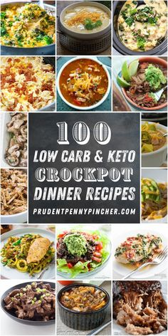 100 Low Carb and Keto Crockpot Recipes These low carb and Keto crockpot recipes are perfect for busy workdays. Just dump everything in before work and come home to a delicious dinner - 100 Low Carb and Keto Crockpot Recipes Keto Diet List, Starting Keto Diet, Diet Food List, Diet Foods, Dukan Diet, Diet Snacks, Diet Meals, Food Lists, Keto Crockpot Recipes