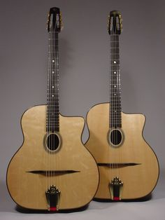 Shelley Park has been constructing guitars in Vancouver since 1991, based on the original designs of Mario Maccaferri and the Selmer Company of France.