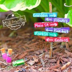 Over 15 Fairy Garden Ideas for Kids in the Garden - Modern Design Kids Fairy Garden, Fairy Garden Furniture, Fairy Garden Houses, Gnome Garden, Garden Beds, Kids Garden Crafts, Fairy Garden Plants, Fairies Garden, Garden Shrubs