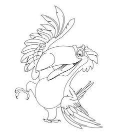 Rio coloring pages | Kids Under 7: RIO Coloring Pages
