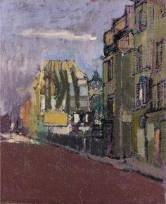 Pierre-Jean Maurel - Walter Sickert (1860-1942) Street Scene in Paris