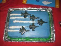 Image result for fighter jet birthday cake