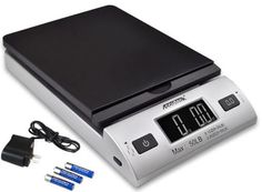 Accuteck Digital Postal Scale 86 LB Capacity With AC Adaptor Free Priority Ship #Accuteck