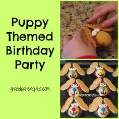 One of our granddaughters had a birthday. We traveled there to spend the weekend and get in on the party. I just had to share the cute Puppy Themed Birthday Party with you.