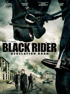 Checkout the movie 'Revelation Road 3: The Black Rider' on Christian Film Database: http://www.christianfilmdatabase.com/review/revelation-road-3-the-black-rider/