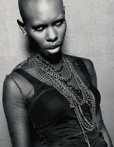 skin, from skunk anansie – luisa klopfer – – Tedric Murph – Hair Clips Black Is Beautiful, Beautiful People, Skunk Anansie, Afro Punk, Music Icon, African Beauty, Female Singers, Along The Way, Girl Crushes
