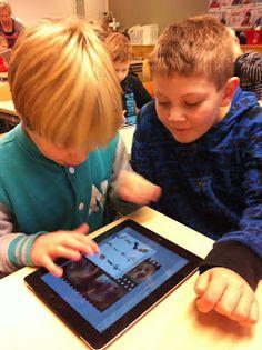 Tietotekniikkaa toisella luokalla: Kakkoset ja iPadit