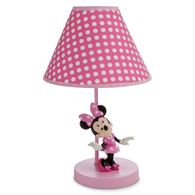 Disney Minnie Mouse Lamp for Baby Minnie Mouse Room Decor, Minnie Mouse Nursery, Mickey Mouse, Disney Home, Baby Disney, Girl Nursery, Girls Bedroom, Bedroom Ideas, Bedroom Decor