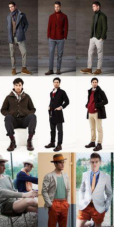 Boglioli, Esemplare and Camo Lookbook - Italian Menswear Brands